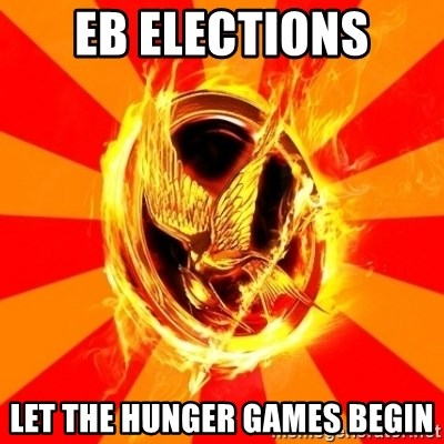 Typical fan of the hunger games - EB Elections LET THE HUNGER GAMES BEGIN