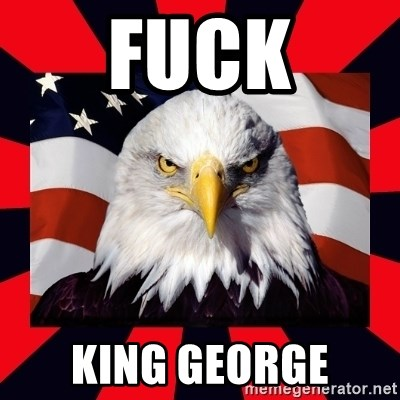 Bald Eagle - Fuck King george