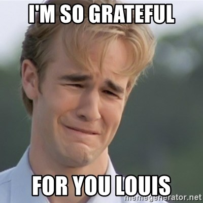 Dawson's Creek - I'M SO GRATEFUL FOR YOU LOUIS
