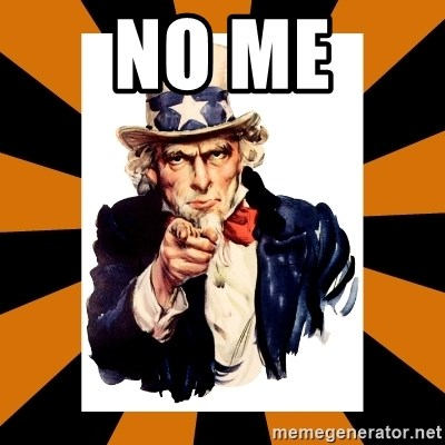 Uncle sam wants you! - no me