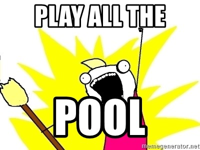 X ALL THE THINGS - play all the pool