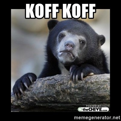 sad bear - Koff koff
