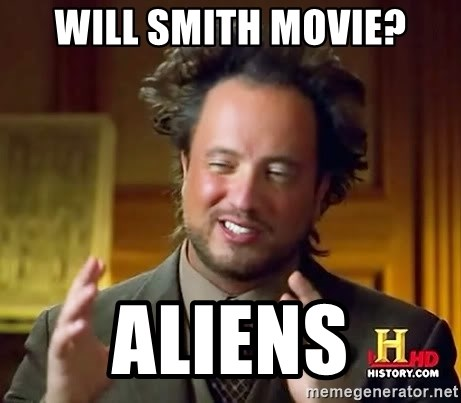 Ancient Aliens - Will Smith Movie? Aliens