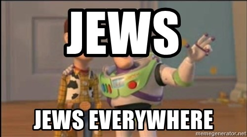 X, X Everywhere  - JEWS JEWS EVERYWHERE