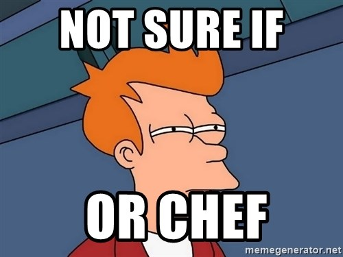 Futurama Fry - not sure if   or chef