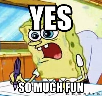 Spongebob What I Learned In Boating School Is - Yes So much fun