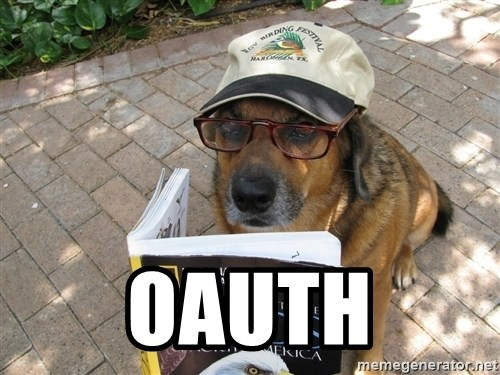 Dog Studying -  OAUTH