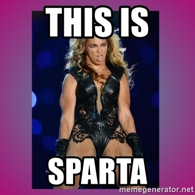 Ugly Beyonce - this is sparta