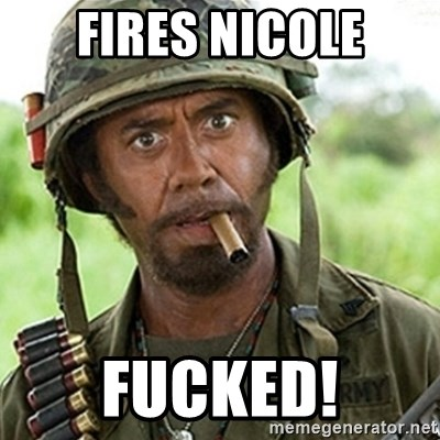 Tropic Thunder Downey - Fires nicole Fucked!