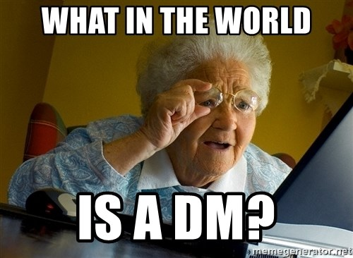 Internet Grandma Surprise - What in the world is a dm?