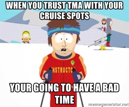 South Park Ski Teacher - When you trust tma with your cruise spots your going to have a bad time