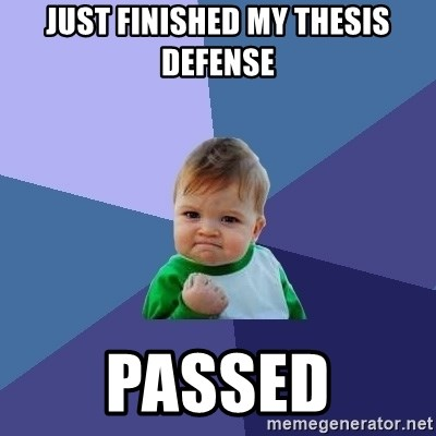 finished my thesis Theses and dissertations submission process student and/or thesis advisor to monitor the and hf group will mail the finished.
