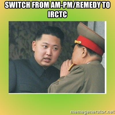 kim joung - SWITCH FROM AM-PM/REMEDY TO IRCTC