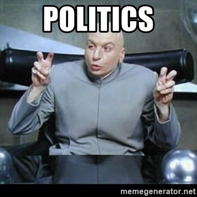 dr. evil quotation marks - politics