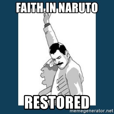 Freddy Mercury - faith in naruto restored