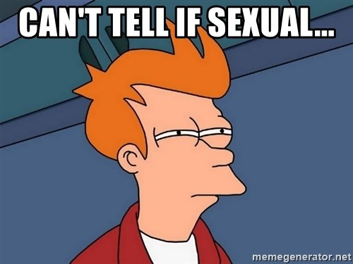Futurama Fry - Can't tell if sexual...
