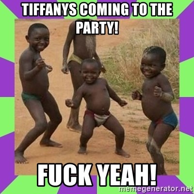 african kids dancing - tiffanys coming to the party! fuck yeah!