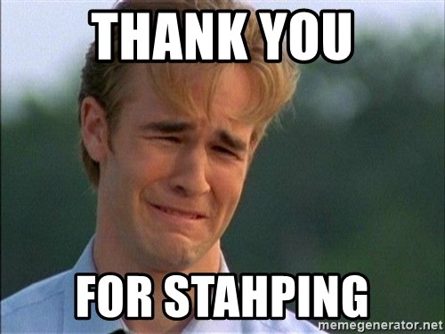 Thank You Based God - THANK you for stahping