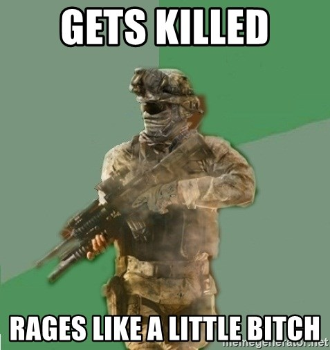 philosoraptor call of duty - Gets killed Rages like a little bitch