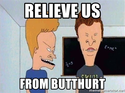 Beavis and butthead - RELIEVE us from butthurt