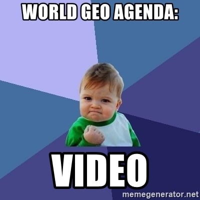 Success Kid - world geo agenda: video