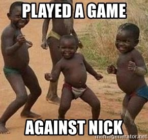 african children dancing - PLAYED A GAME  AGAINST NICK