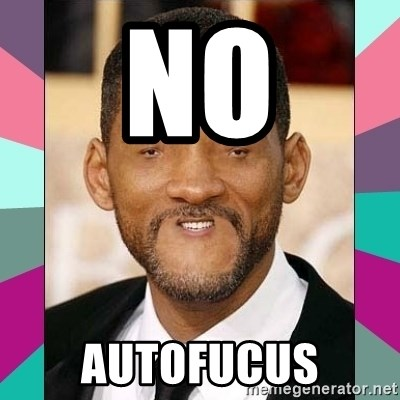 woll smoth - NO AUTOFUCUS