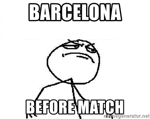 Fuck Yeah - BARCELONA  Before Match