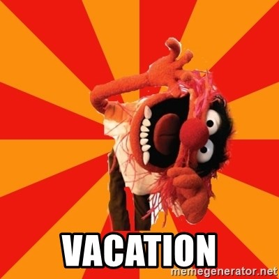 Animal Muppet -  VACATION