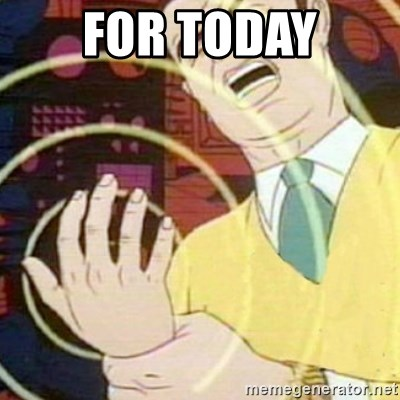 must not fap - for today