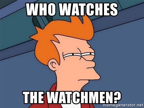 Futurama Fry - WHO watches the watchmen?