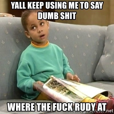 Olivia Cosby Show - yall keep using me to say dumb shit where the fuck rudy at