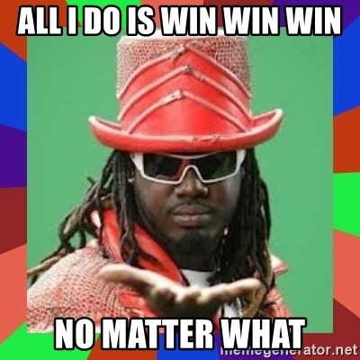 t pain - All i do is win win win no matter what