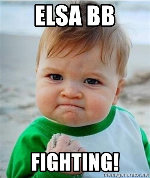 victory kid - ELSA BB FIGHTING!