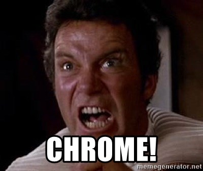 Khan -  Chrome!