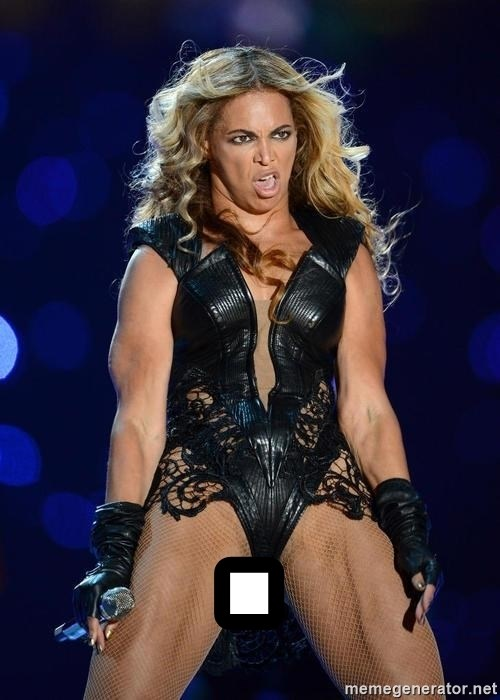 Beyonce SuperBowl face -   .