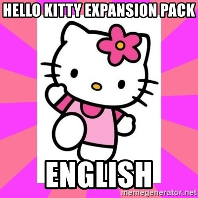 Hello Kitty - Hello Kitty expansion pack English