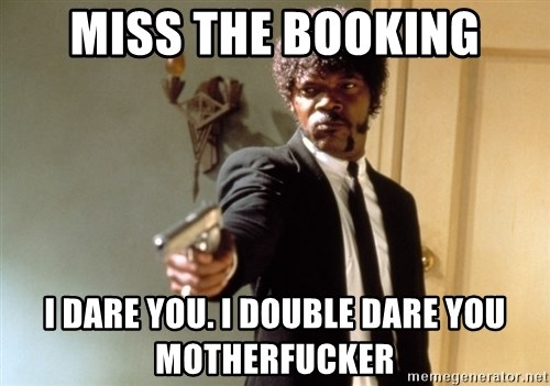 Samuel L Jackson - Miss the bookIng I dare you. I double Dare you motherfucker