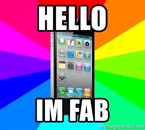 TYPICAL IPHONE - HELLO IM FAB