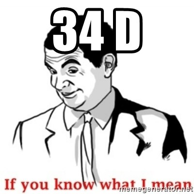 Mr.Bean - If you know what I mean - 34 d