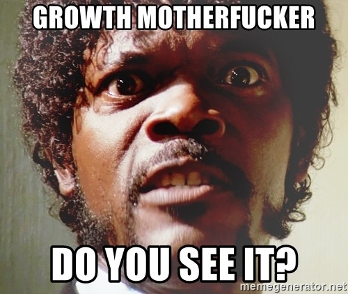 Mad Samuel L Jackson - GROWTH MOTHERFUCKER DO YOU SEE IT?
