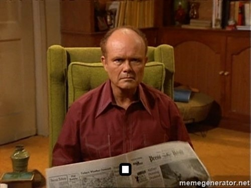 Red Forman -                                    .