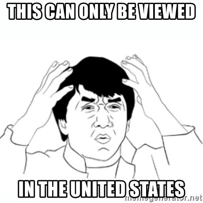 wtf jackie chan lol - this can only be viewed  in the united states