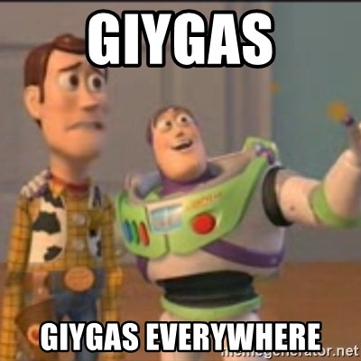 Buzz - giygas giygas everywhere