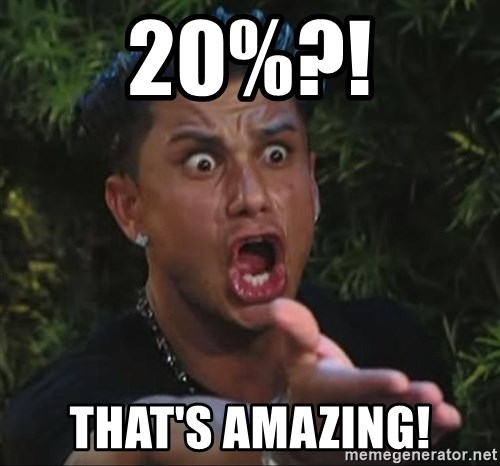 Pauly D - 20%?! That's aMazing!