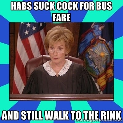 Judge Judy - HaBs suck cock for bus fare And still walk to the rink