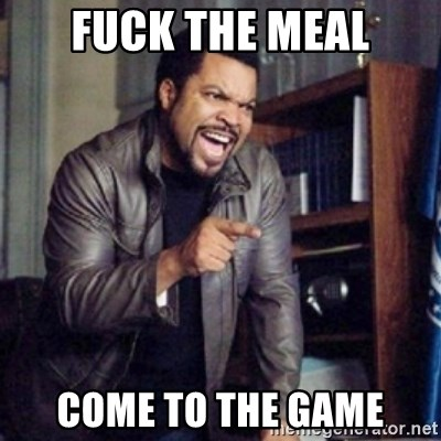 Ice Cube 21 Jump Street - Fuck the meal Come to the game