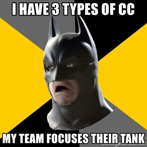 Bad Factman - i have 3 types of cc my team focuses their tank