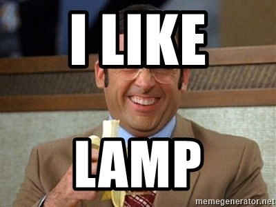 Brick Tamland Anchorman - I LIKE LAMP
