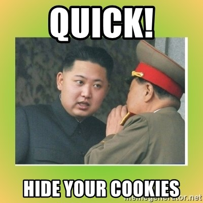 kim joung - QUICK! HIDE YOUR COOKIES